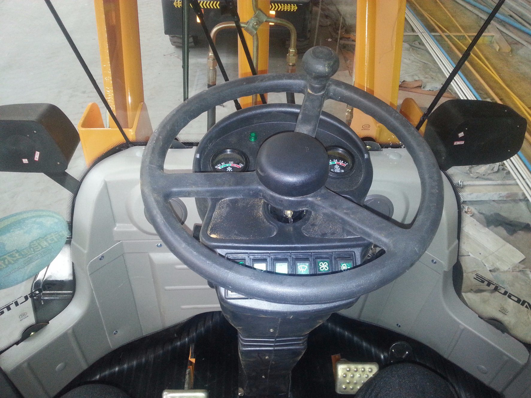 Small Wheel Loader with CE, ISO9001