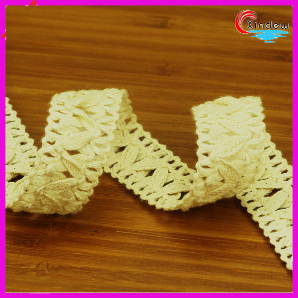 2cm Linen Cross Shape for Home Textile