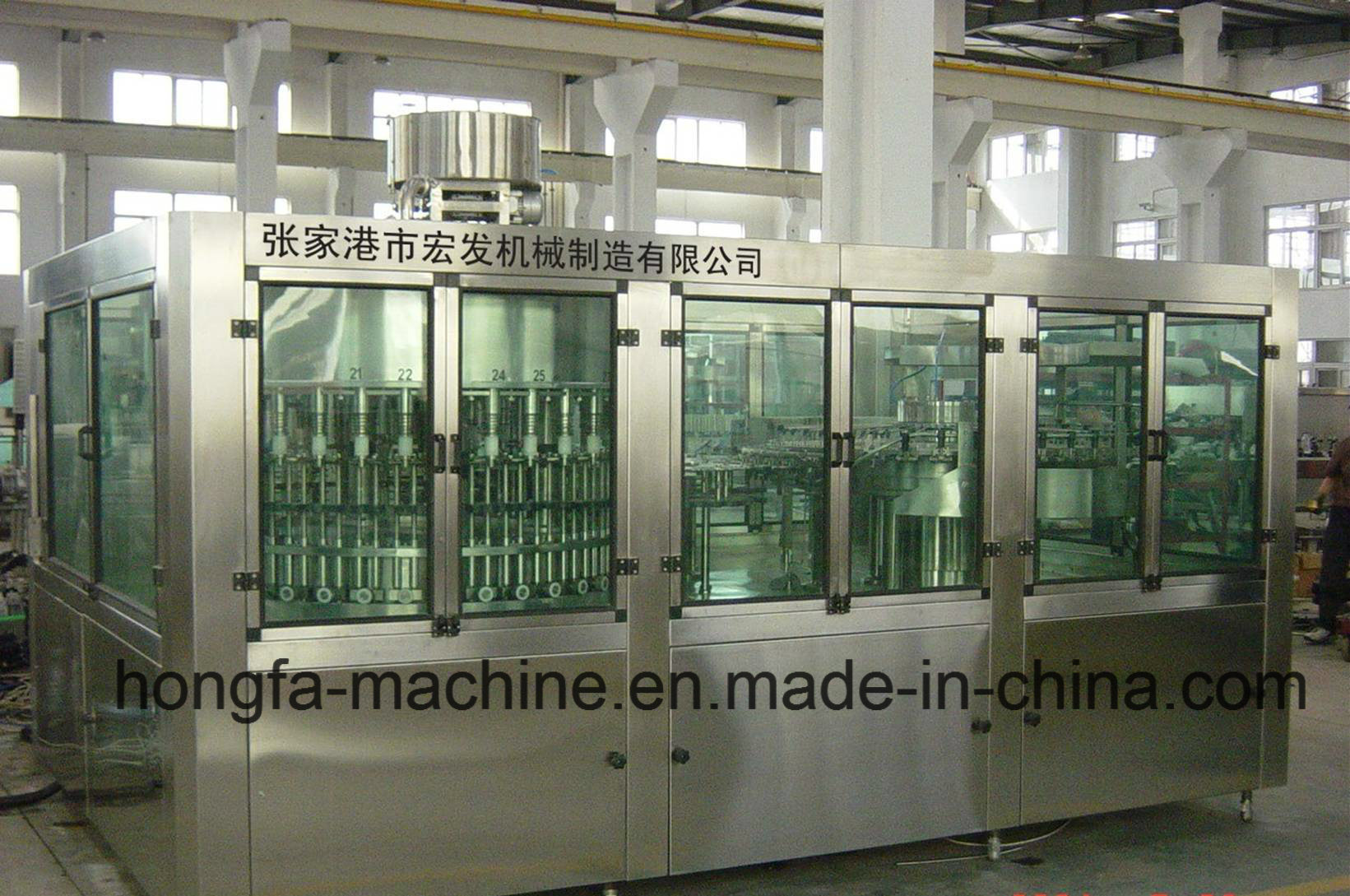 40-40-10 Full-Automatic Carbonated Drinks Bottling Machine