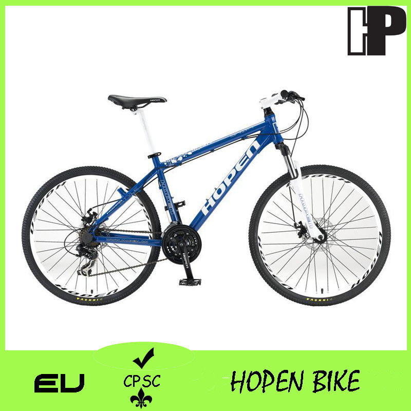 "26"" Low Price Mountain Bike with Suspension Fork"