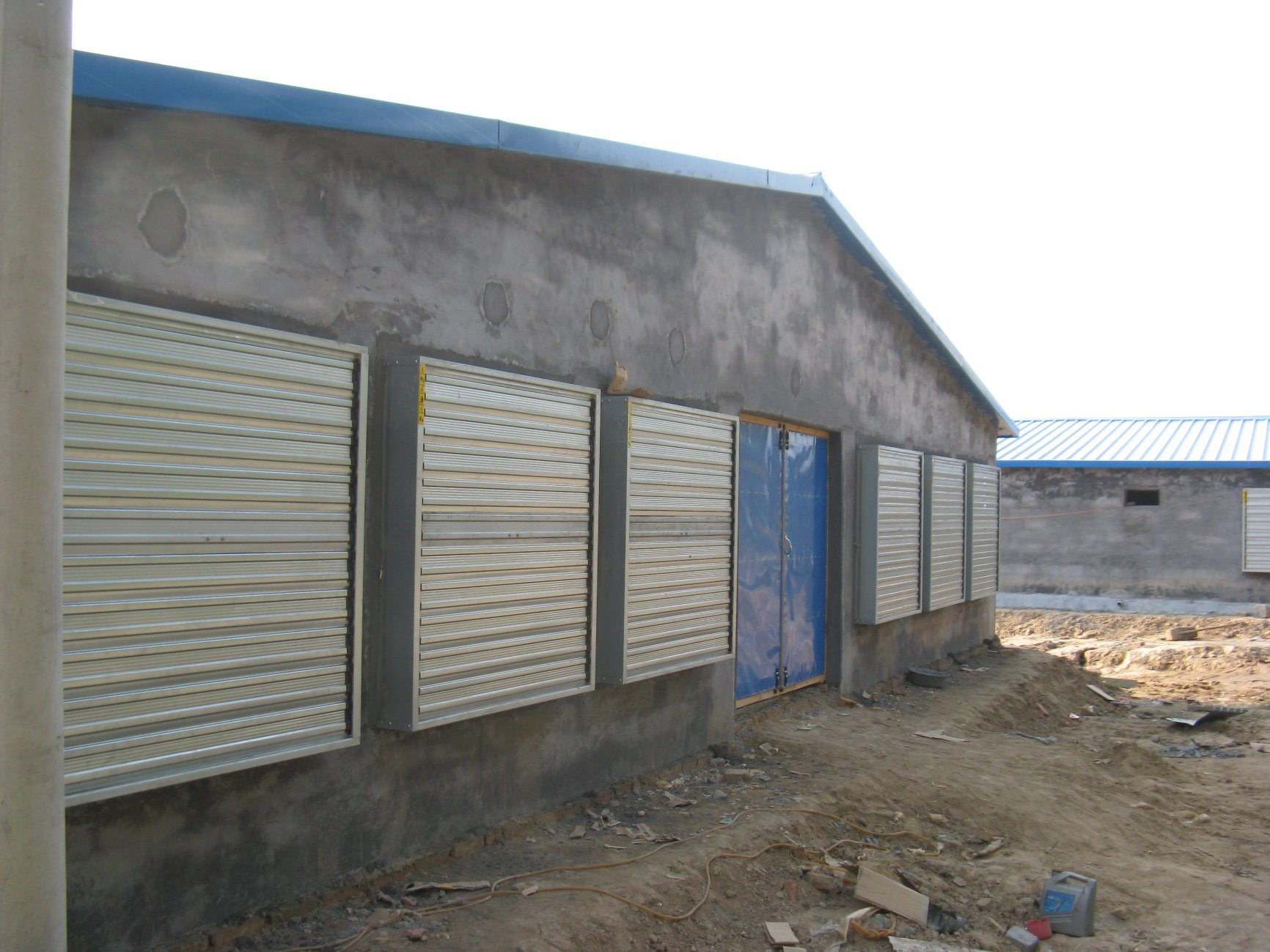 Automatic Ventilation System for Broiler Chicken House Equipment