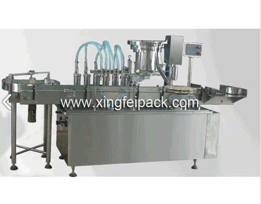 Tomato Ketchup Filling & Capping Machine (XFY)