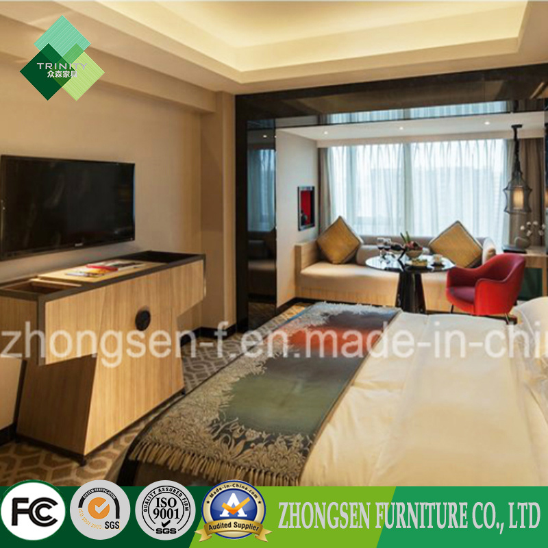 High Quality Solid Wood Bedroom Furniture Set for Sale (ZSTF-10)