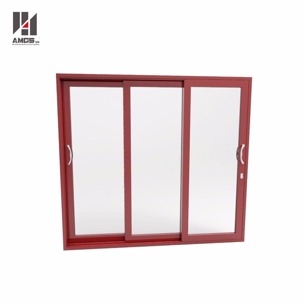 Commercial Building Entry Door Aluminum Sliding Door Glass Sliding Door