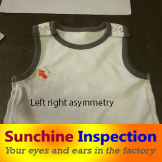 T-Shirt Clothing Final Rndom Inspection Before Shipping in Foshan