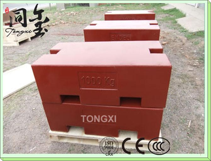 1000kg/1t Cast Iron M1 Test Weight