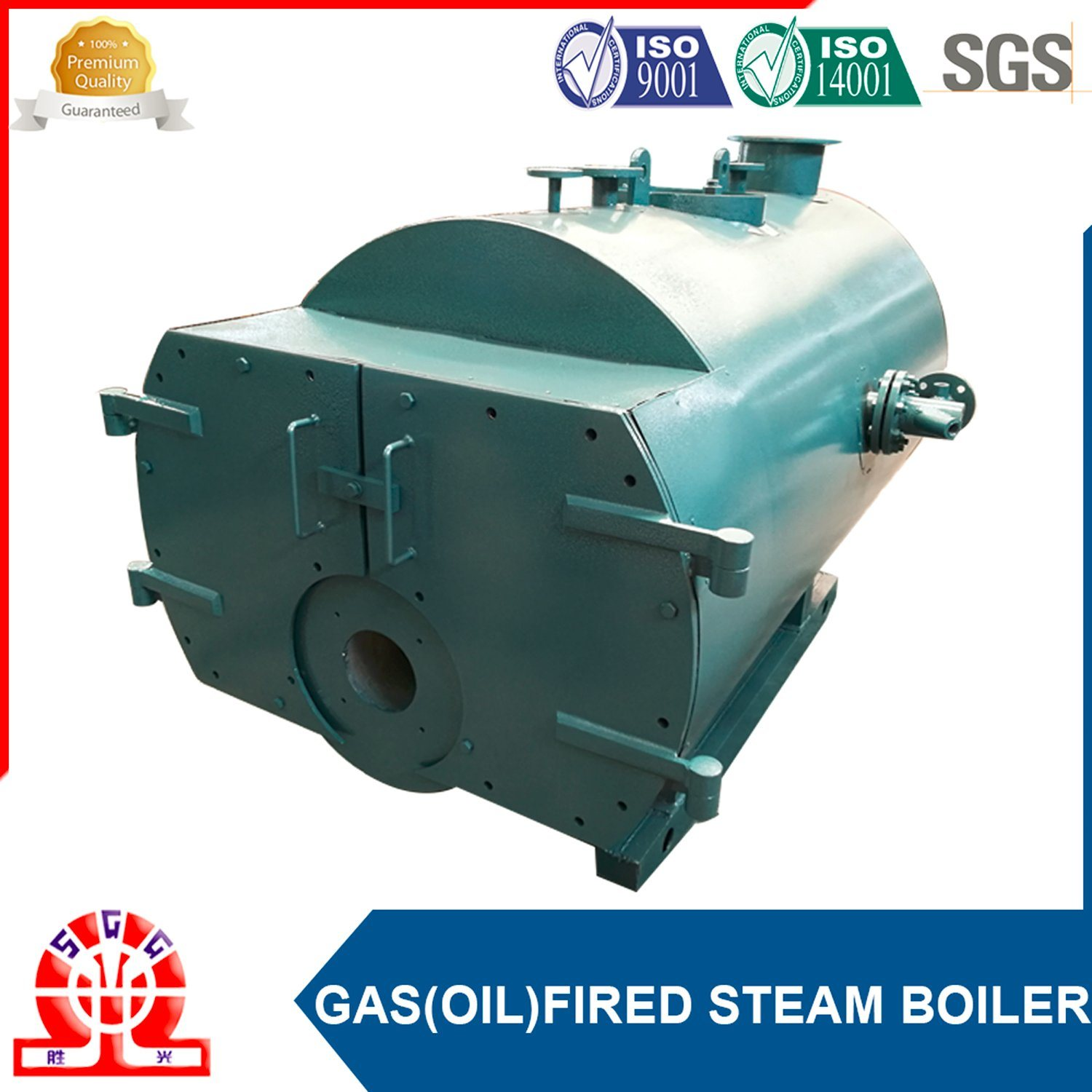 ASME Approved Industrial Water Fire Wet Back Boiler