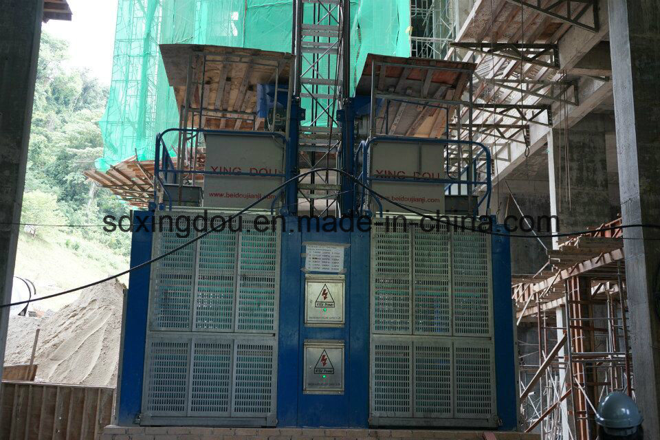 Passenger and Goods Hoist/High Building Construction Equipment/Building Lift/Construct Elevator