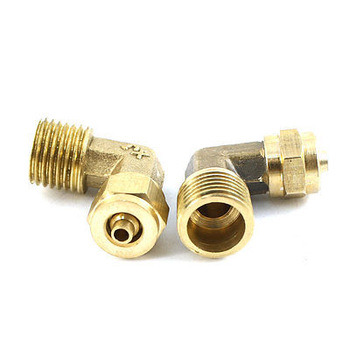 Air Compressor Parts Brass or Steel Elbow