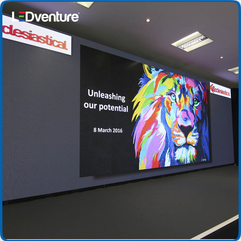 Indoor Full Color HD Resolution LED Video Screen