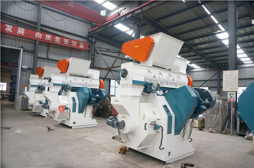 High Output Biomass Wood Waste Pellet Machine Production Line