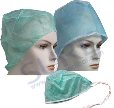 Professional Disposable Non-Woven Doctor Cap with CE & ISO