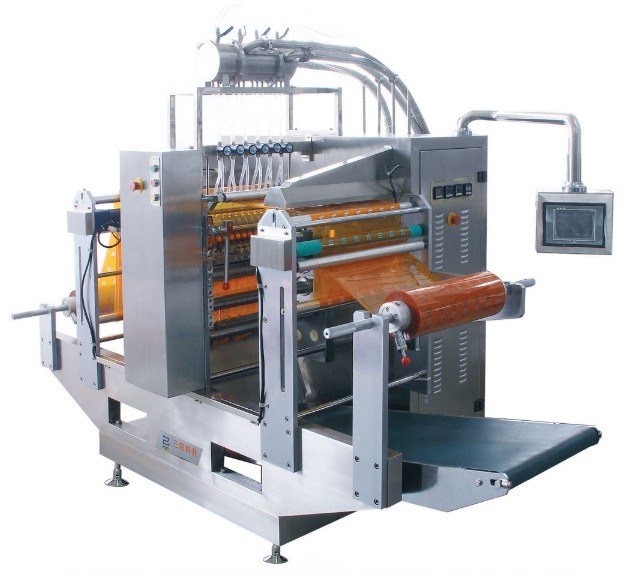 Juice Four-Side Sealing and Multi-Line Packing Machine (DXDO -Y900EW)