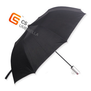 "23""*8k Market 2 Folding Umbrella with Sliver Handle (YS-2F3002A)"