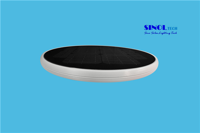 Round Shape All-in-One Solution 15W LED Lamparas Solares (SNSTY-Y215)