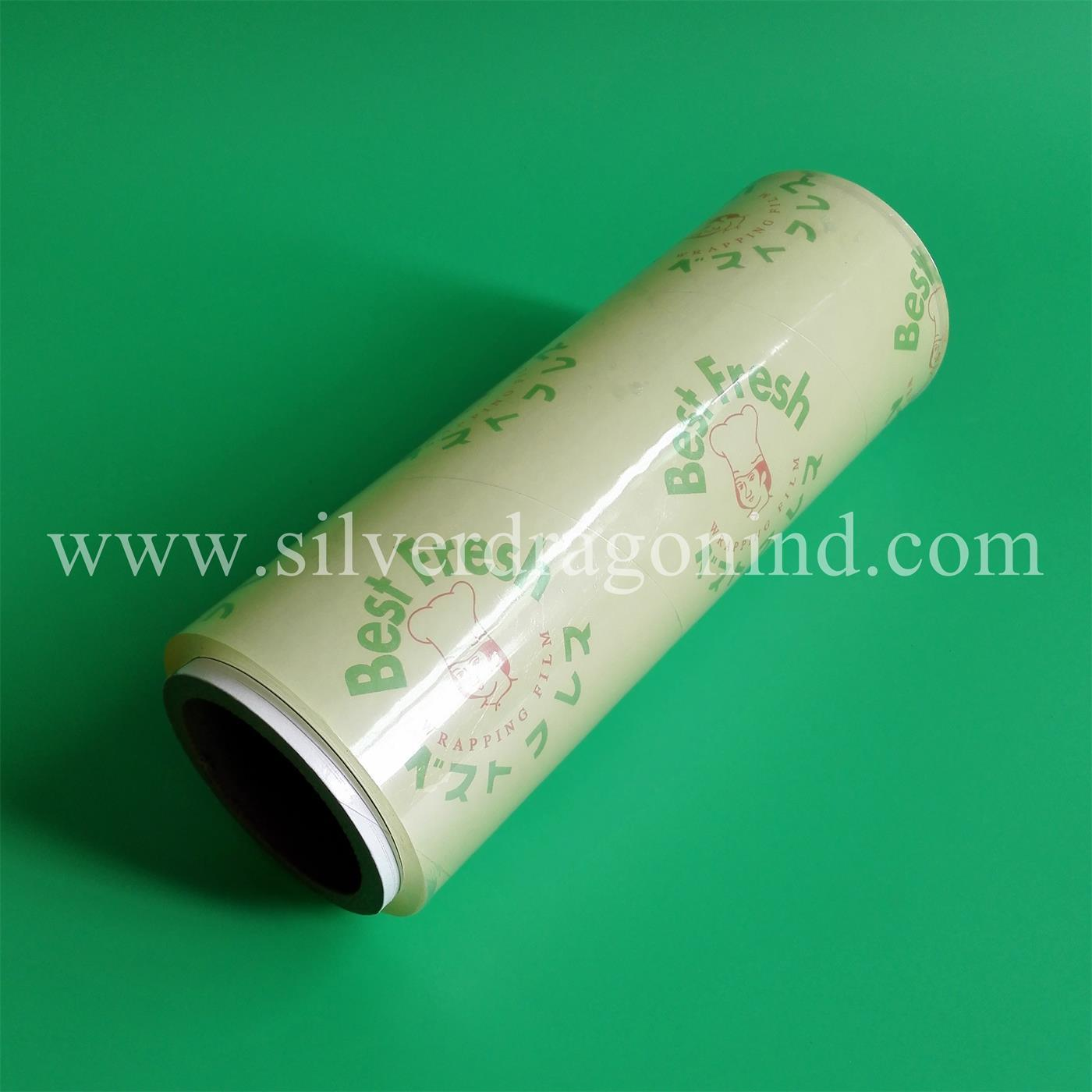 PVC Food Stretch Film with Best Fresh Logo
