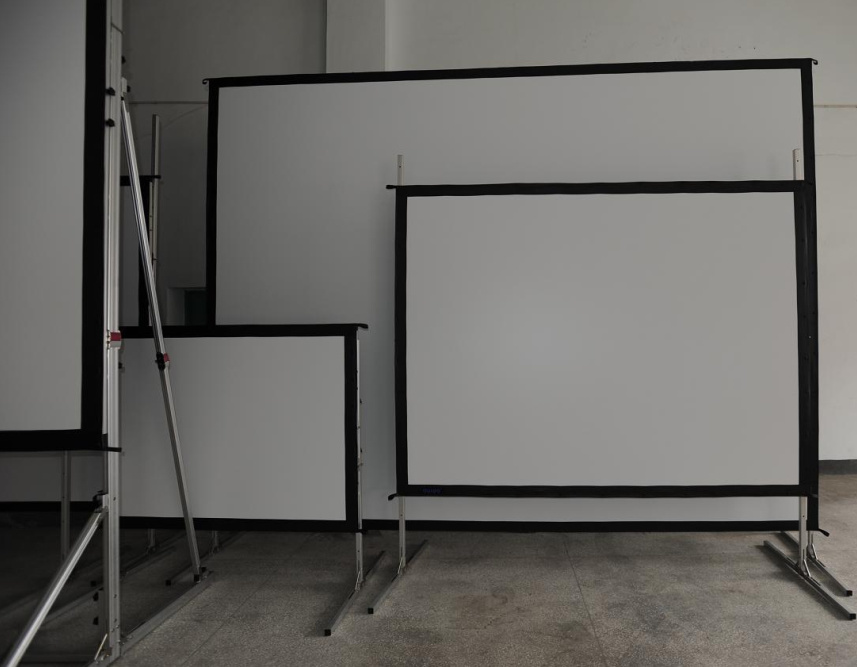 "100"" to 500"" Size Fast Fold Projector Screen"