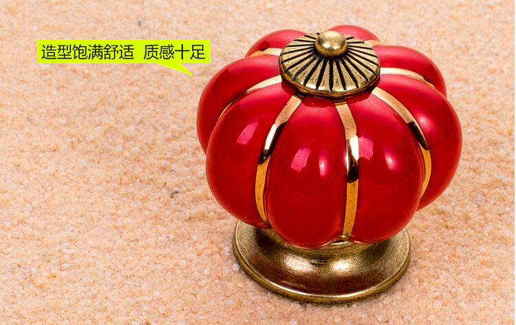 Furniture Hardware, Wardrobe Handle, Cabinet Handle, Pumpkin Handle, Al-Ng