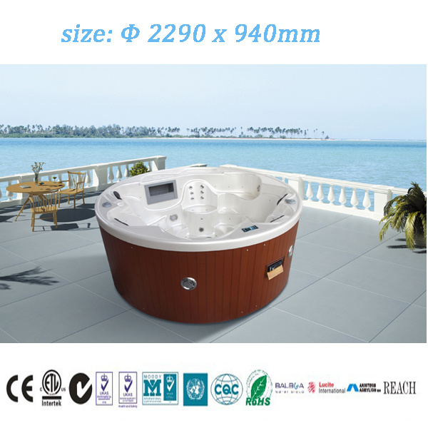 Monalisa Jets Massage Hot Tub SPA for Swimming (M-3356)