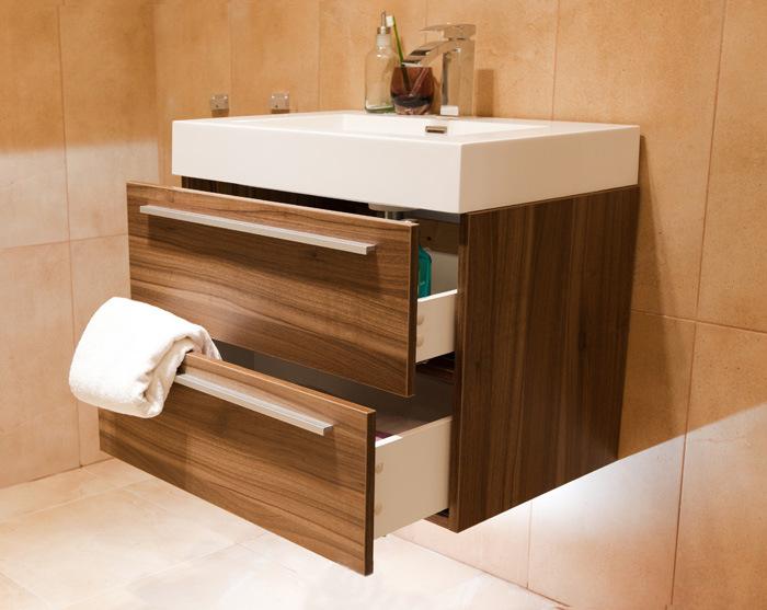 Combathroom Wall Hung Vanity Units : China Bathroom Vanity Unit Wall Hung Furniture 690 - Walnut - China ...
