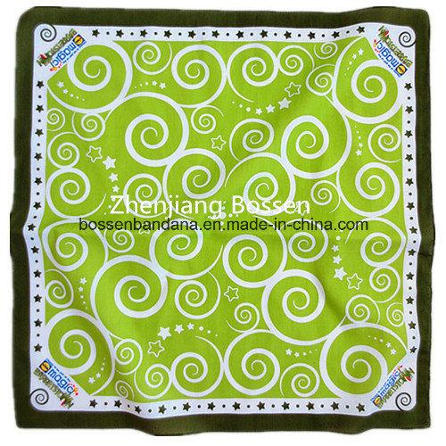 Factory Produce Custom Logo Printed Cotton Paisley Headwear Bandana