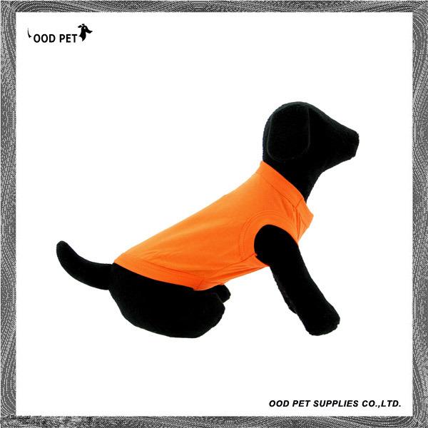 Barking Plain Dog Shirt Orange Spt6002-4