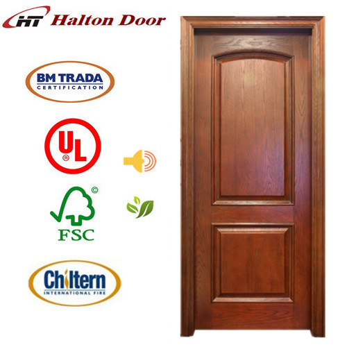 China Halton Wooden Door/Wood Door for Home Living/Wood Entrance Door/Fancy Wood Door