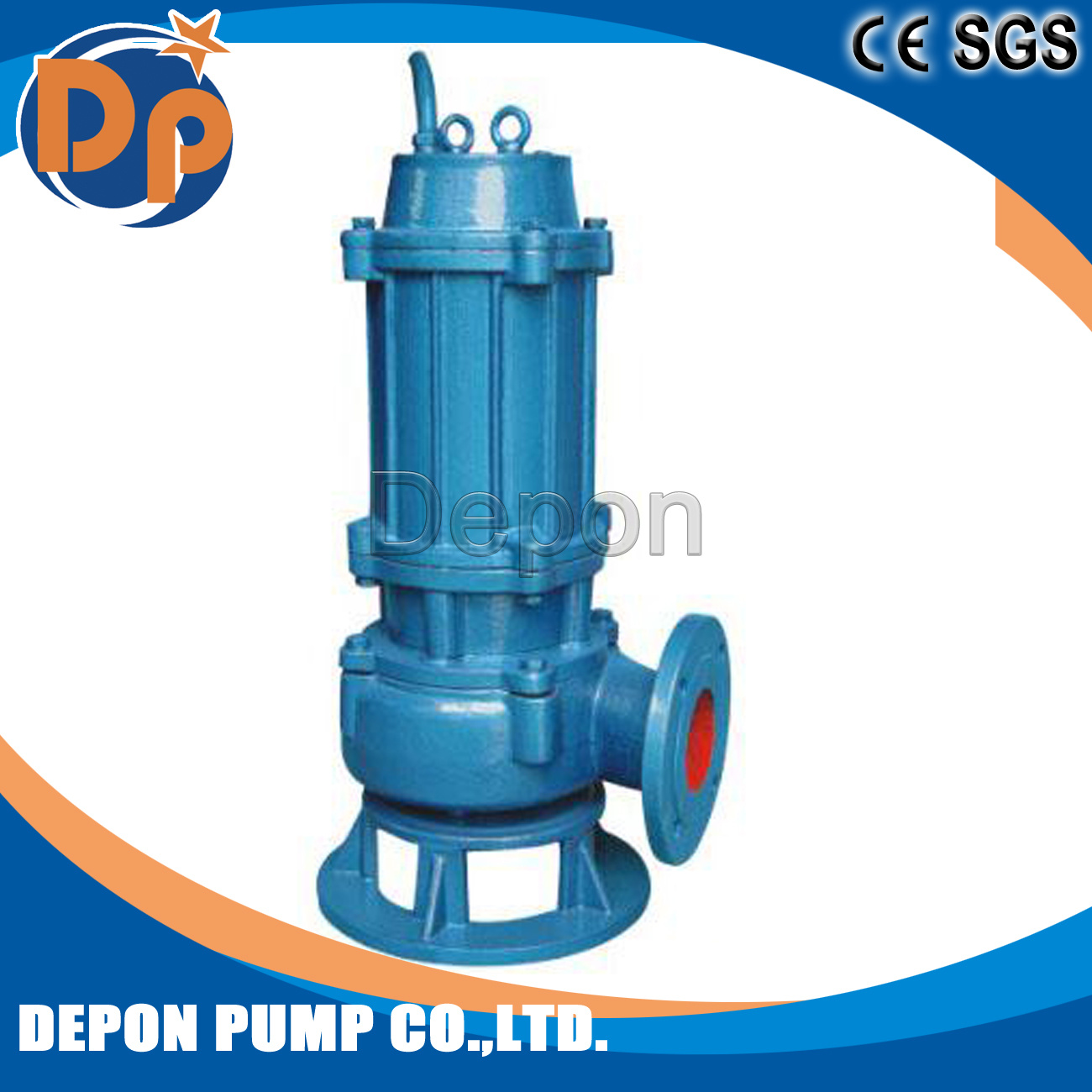 Single Phase Submersible Pump Motor 3kw 4HP 1400 Rpm