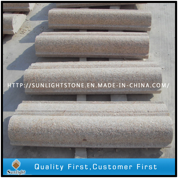 Flamed Surface G682 Rusty Yellow Granite Border/Paving Stone