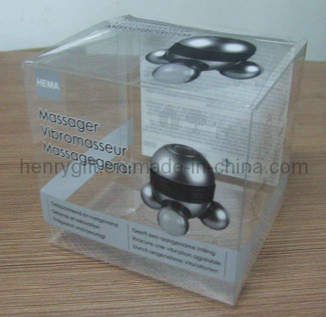 Packing Folding Transparent Plastic PVC Box (HG-PB011)