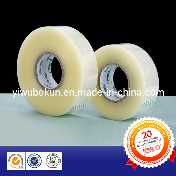 Quality Guaranteed Clear Adhesive Packing Tape in Jumbo (BK001)