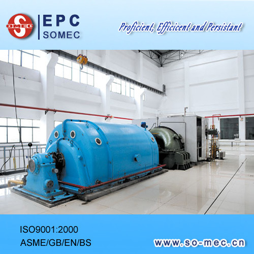 Power Plant Steam Turbine Generator