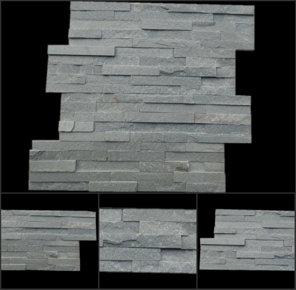placage gris de pierre de rev tement de mur de tuile d 39 ardoise placage gris de pierre de. Black Bedroom Furniture Sets. Home Design Ideas