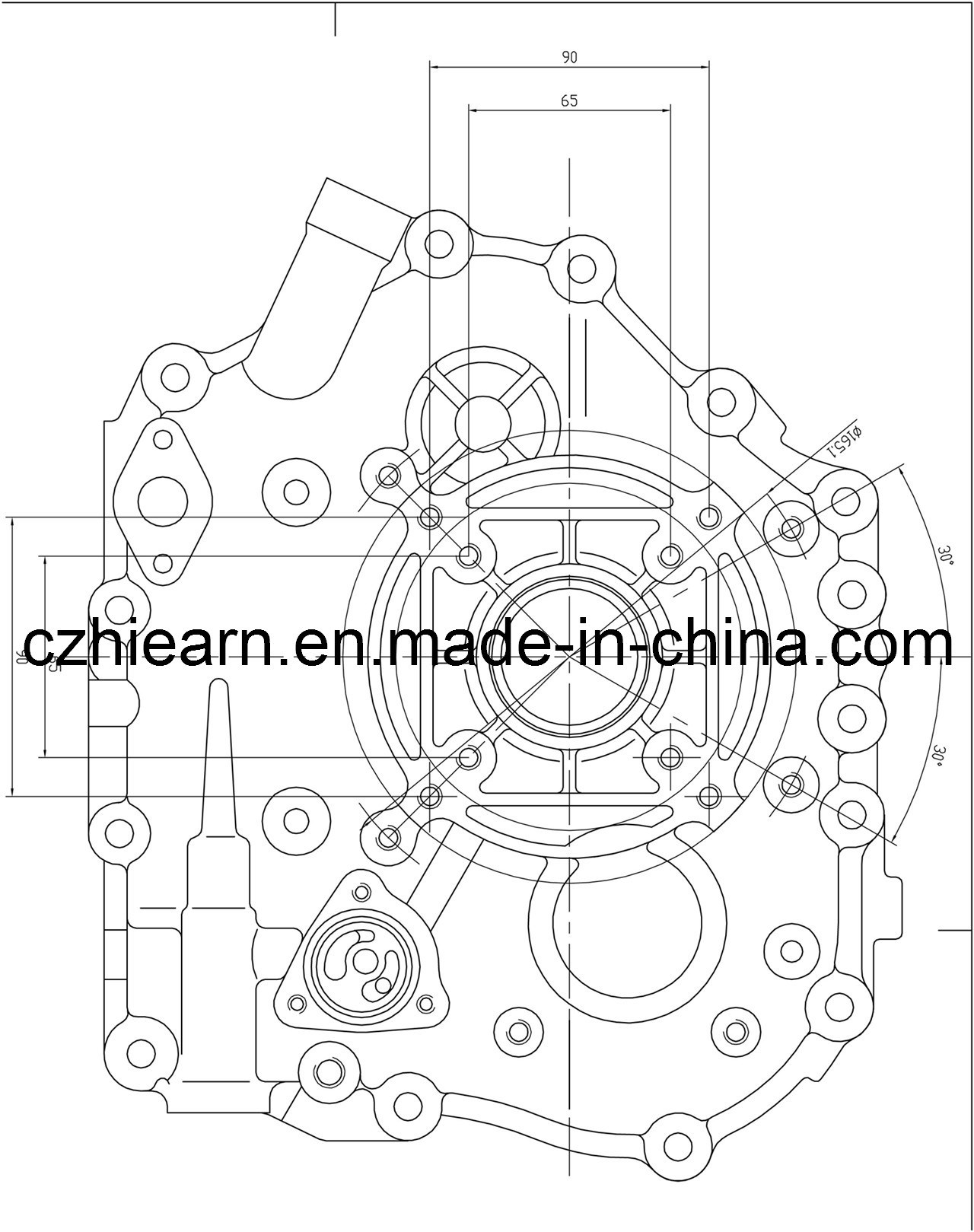 Air-Cooled 4-Stroke Diesel Engine (HR186FA)