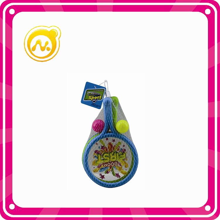 Promotional Kids Play Set Plastic Teenis Racket Toys