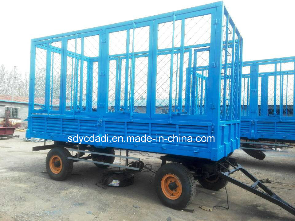 Best Utility Agricultural Product Semi Trailer, Farm Trailer