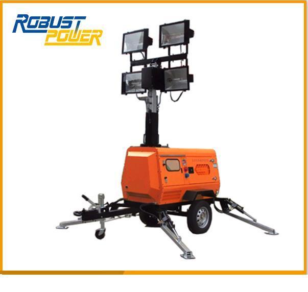 Portable Rplt-6800 Mobile Diesel Lighting Tower