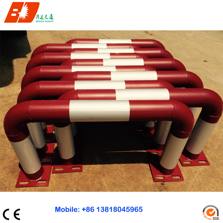 Durable Vehicle Steel Parking Wheel Stopper
