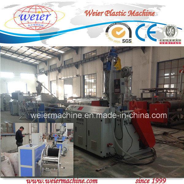 Single Wall Corrugated Pipe Machine Plastic Extruder