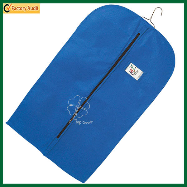 Zippered Uniform Non Woven Garment Bag (TP-GB086)