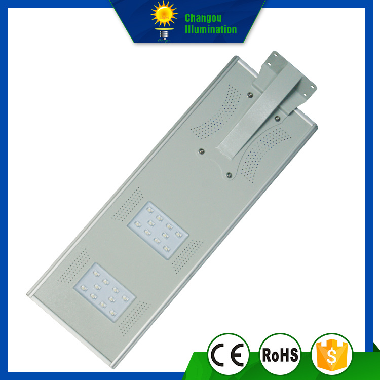 20W All in One LED Panel Street Solarlight