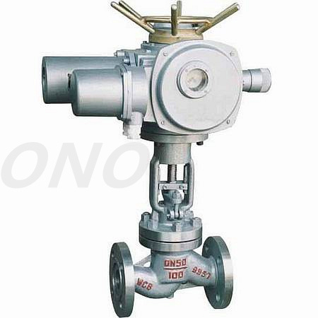 ANSI Electric Stainless Steel Globe Valve