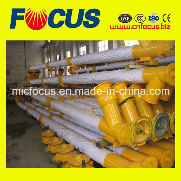 Stainless Steel Cement Inclined Spiral Auger Feeder, Lsy Screw Conveyor
