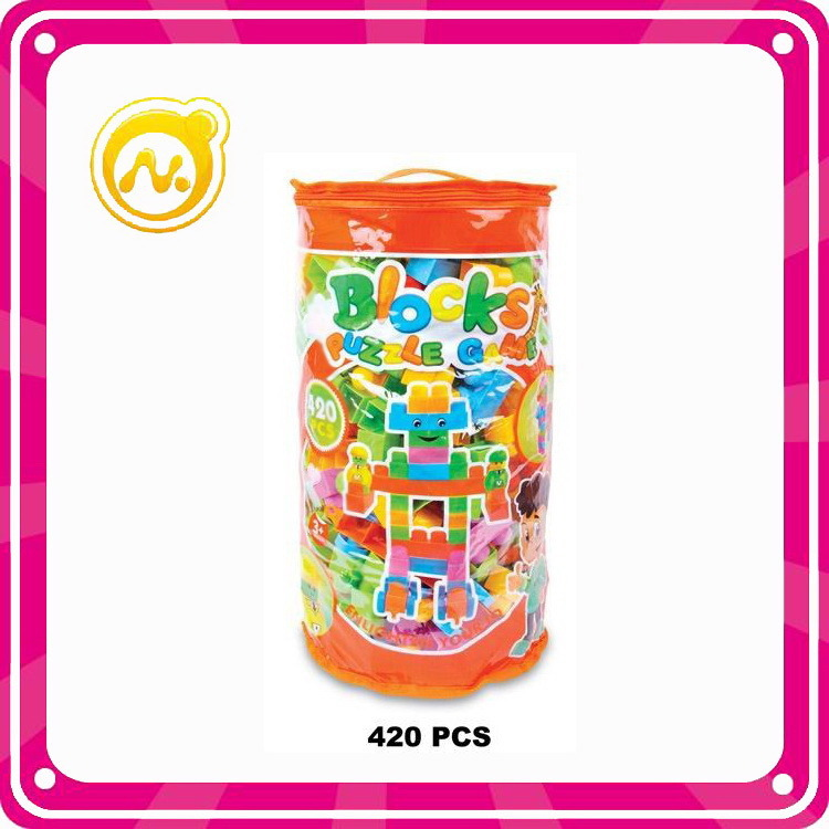 45PCS Plastic Blocks Toy DIY Building Block