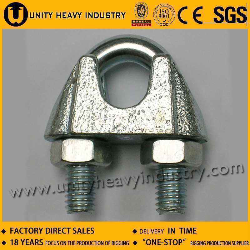 DIN 741 Galv Malleable Wire Rope Clips