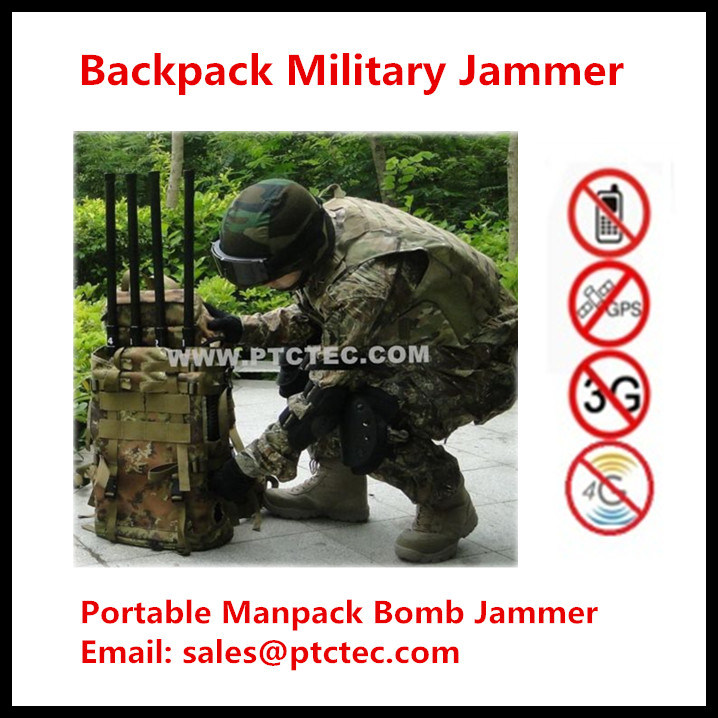 China 2015 New Powerful VHF/UHF Portable Jammer Backpack Jammer Military Jammer - China Portable Jammer, Signal Jammer