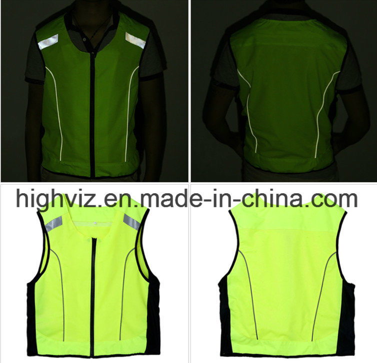 High Visibility Vest for Outdoor Cycling (C2426)