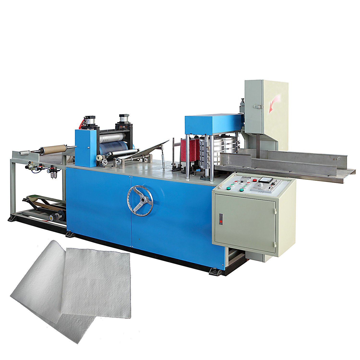 1/4 and 1/8 Paper Napkin Folder Machine