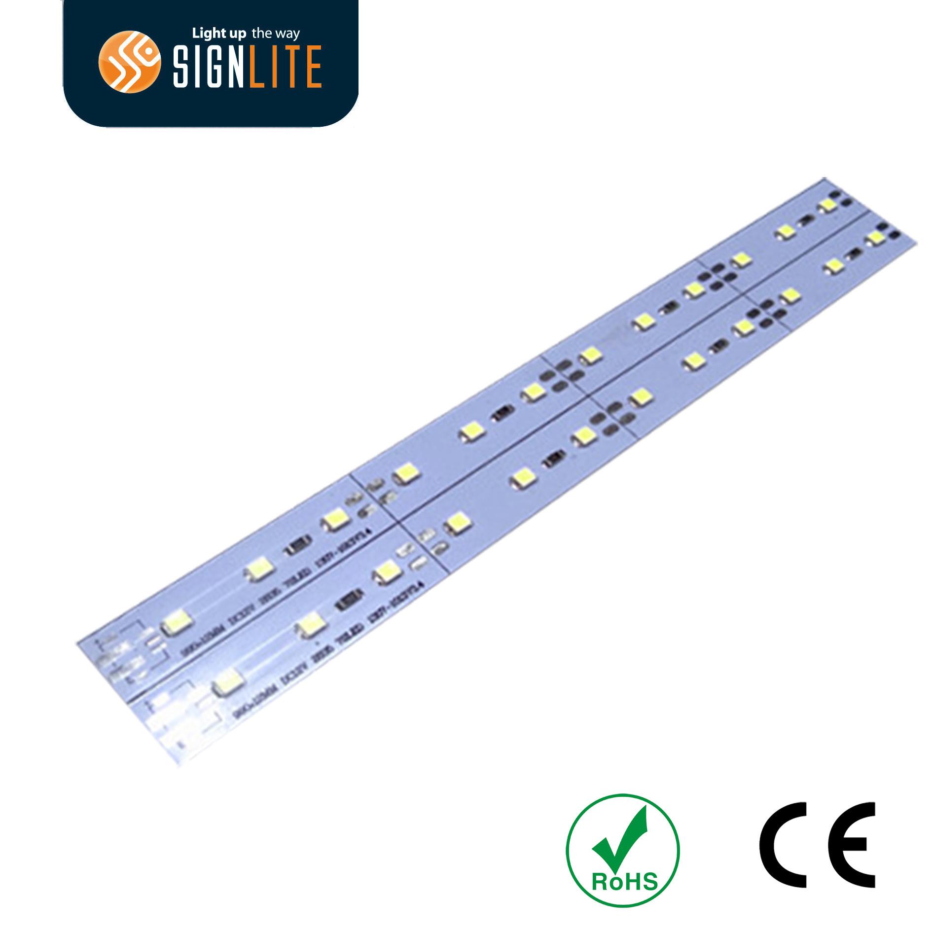 12V Aluminum SMD2835 IP33/IP66 Rigid LED Strip
