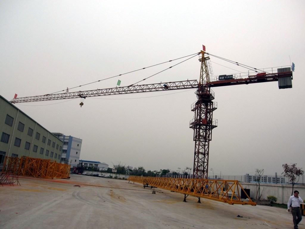 Qtz100 (TC6511) Construction Machinery Tower Crane